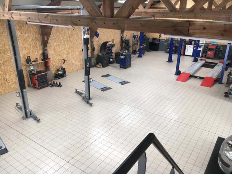 ATELIER VIDE - Atelier mécanique