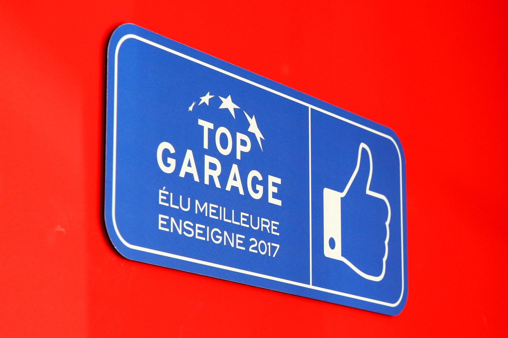 top garage meilleur enseigne 2017 - Accueil