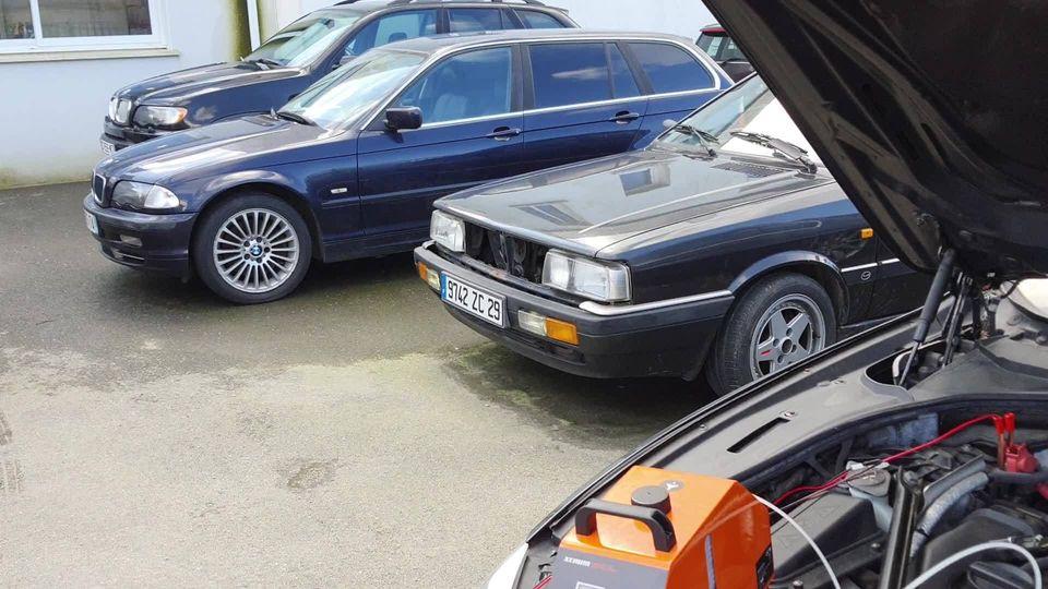 Nettoyage admission sur ce superbe 3L BMW avec no…